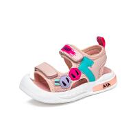 【1件5折价:89.9元】大黄蜂女宝宝凉鞋2021新款夏季小童幼儿软底防滑学步鞋儿童学步鞋