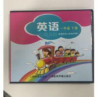 【仅光盘】上海教育出版社深圳小学牛津英语一年级下册英语口语交际(课本+活动手册)配套的 CD光盘 1年级下光盘