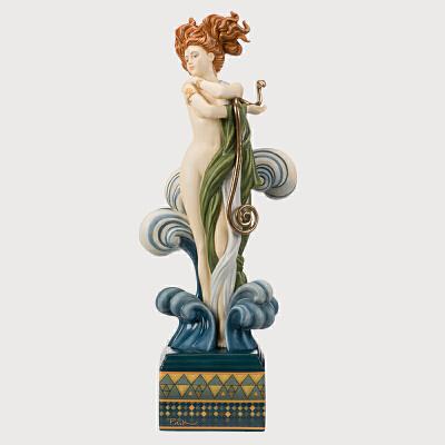 德国Goebel进口欧式家居饰品艺术陶瓷人物装饰客厅摆件限量500件德国进口欧式家居饰品艺术陶瓷人物摆件限量