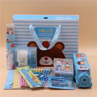 初中小学生学习用品生日大礼包奖品礼物新年圣诞礼品文具套装礼盒
