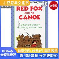 英文绘本 原版进口 Red Fox and His Canoe 红狐狸和独木舟I Can Read [4-8岁