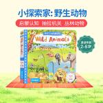英文原版绘本 First Explorers Wild Animals 野生动物 SETM科普 亲子互动儿童启蒙图画故