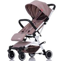 婴儿推车轻便折叠可坐可躺便携式迷你夏季超轻可躺坐宝宝手扒伞车a348