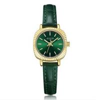聚利时手表女简约小巧方形复古手表小表盘真皮时尚防水石英女表1056