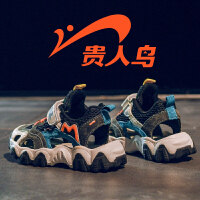 【品牌钜惠:63】贵人鸟男童鞋子2020新款夏季镂空透气网面潮中大童运动鞋儿童网鞋
