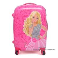 儿童拉杆箱芭比公主卡通旅行行李箱包16 万向轮女