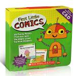 【顺丰包邮】英文原版分级读物 First Little Comics Parent Pack: Levels C &