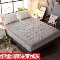 榻榻米床垫学生宿舍床褥子可折叠单人垫被加厚1.5m/1.8米床 加厚绗绣