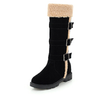 WARORWAR 2019新品YG30-9134冬季韩版内增高舒适女鞋潮流时尚潮鞋百搭潮牌雪地靴