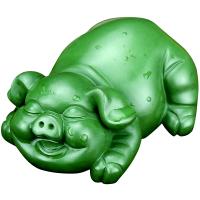 紫砂茶宠 创意福猪茶玩茶盘摆件可养 福猪---名家陈春强作品