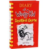 英文原版 小屁孩日记第11册 美国平装版 Diary of a Wimpy Kid #11 Double Down 杰
