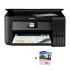 爱普生L4168墨仓式智能无线WIFI照片打印机自动双面办公家用彩色喷墨一体机连供打印复印扫描替L485 L385