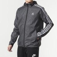 Adidas阿迪达斯 男装 运动休闲防风衣连帽夹克外套 DW4616