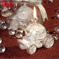 萌味 蜡烛 婚礼蜡烛浪漫创意南瓜车生日蜡烛新婚礼物求婚告白求婚情人节礼品 创意礼品
