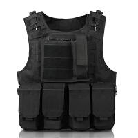 战狼2同款 特种兵战术背心多功能迷彩马甲轻量化cs装备防刺防弹衣