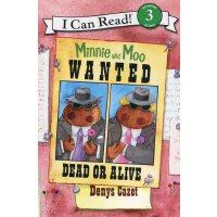 英文原版Minnie and Moo: Wanted Dead or Alive米妮和哞哞