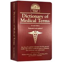 医学术语词典 英文原版字典 Dictionary of Medical Terms 英文版书籍 正版进口原版英语工具书