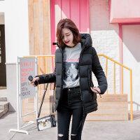 反季棉衣女中长款韩版羽绒茧型加厚冬装外套