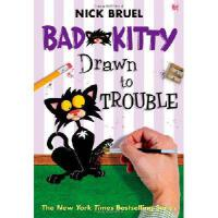 【预订】Bad Kitty Drawn to Trouble