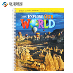 Explore Our World Level 6教师用书 原版正品美国国家地理小学英语教材 含光盘
