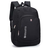 新款时尚双肩包男大容量书包初高中大学生书包男士休闲旅行背包包
