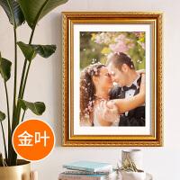 欧式相框16 20 24 30 28 32寸婚纱照画框挂墙十字绣 大32寸挂墙 [可放60.2*80.2cm]