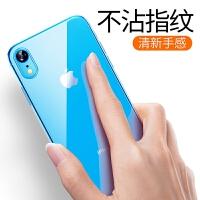 iPhone XR手机壳苹果Xr保护套新款潮牌iPhoneXR软硅胶超薄透明9r软壳ipxr全包防摔 苹果XR 【全透