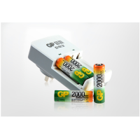 【当当自营】超霸 充电宝KB01套装 2000毫安5号、7号电池可多次充电,用于用于KTV,数码、鼠标,遥控器等