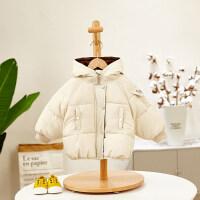 宝宝冬装男0一1-3岁婴幼儿童棉衣冬季加厚外套婴儿衣服冬天潮