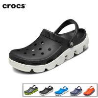 Crocs洞洞鞋 夏季男女同款运动迪特卡骆驰凉鞋 防滑沙滩鞋|11991 运动迪特