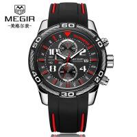 男士手表 新品霸气时尚多功能计时石英男士手表