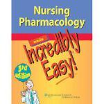 【预订】Lww Nursing Pharmacology Mie 3e Plus Aschenbrenner 4e P