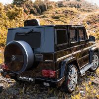 奔驰G63儿童电动车四轮越野车宝宝汽车玩具车可坐人带遥控超大号