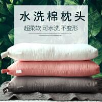 彩阳简约可水洗枕芯单人家用羽丝绒枕头软枕双人一对拍2