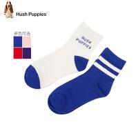 【2件5折:29元】暇步士童装儿童袜子冬装新款男童袜条纹2双装女童宝宝中筒袜