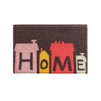 家用进门垫子双色丝圈地垫 防滑除尘玄关入户门厅厨房蹭脚垫地毯