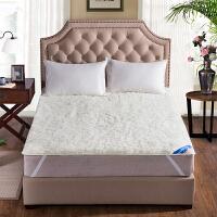 可定制澳洲纯羊毛床垫 冬季加厚羊毛保暖床褥子垫被学生1.8m双人
