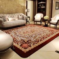 客厅茶几沙发地毯 卧室中式玫瑰花婚庆床边毯