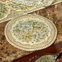 欧式餐垫餐桌垫杯垫花瓶垫碗垫垫子布艺盘子垫隔热垫圆形布垫茶几