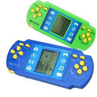 方块掌上PSP游戏机 打飞机 赛车 贪吃蛇 找位置等7种经典游戏 颜色随机