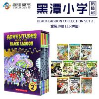 英文原版  Black Lagoon Collection Set 11-20  章节书:黑潭小学   儿童读物章节桥梁书 学生英语课外阅读