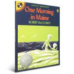 One Morning in Maine 海边的早晨 一个关于爱与成长的温馨故事 美国绘本大师的凯迪克银奖作品 换牙时