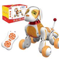 玩具儿童智能机器狗狗电动遥控仿真宠物机器人会唱会走男女孩 抖音 【收藏加购】送遥控电池+螺丝刀+加送遥控猫玩具
