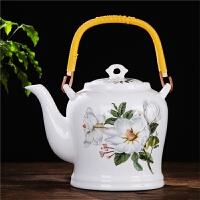 景德镇陶瓷茶壶大号提梁壶泡茶壶大容量凉水壶过滤单壶冷水壶瓷壶