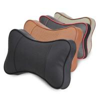 车用靠枕头  汽车头枕 护颈枕 四季车饰品一对装 车载骨头枕靠垫