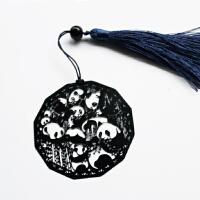 熊猫金属书签创意小清新学生用中国风流苏文创礼品特色外事