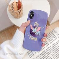 小飞象软8plus苹果x手机壳XS Max/XR/iPhoneX/7p/6女iphone6s硅胶