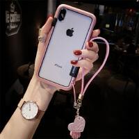 新款苹果X手机壳硅胶边框iPhone6splus个性创意8仙女网红7p腕带潮 iphone X
