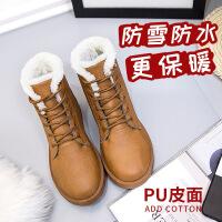 №【2019新款】送老人的棉布鞋短靴老北京棉鞋女靴雪地靴平底加绒棉靴居家鞋
