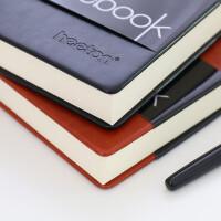 喜通 400页硬皮面笔记本文具本子加厚大号a4简约复古商务笔记本子记事本b5